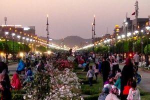 Boulvard Mohamed VI Rose Garden