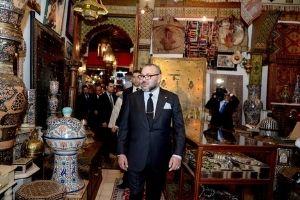 King Of Morocco in Mellah