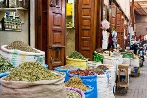 Marrakech Spice Shop