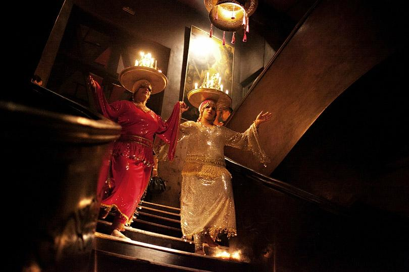 International Cuisine with Entertainments in Marrakech