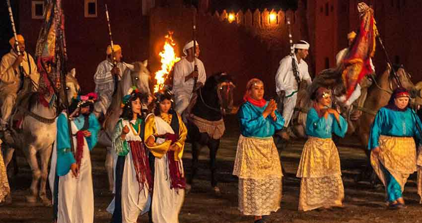 Marrakech Fantasia Dinner Event